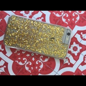 Accessories - Gold fleck iPhone 6+ phone case!
